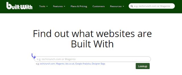 كيف تعرف ماهي لغة برمجة الموقع الي تزوره على الانترنت والتقنيات المستخدمة في بناءه(builtwith.com)