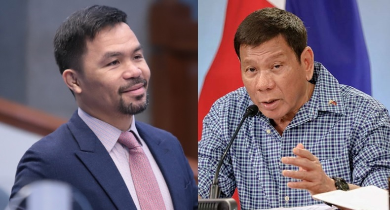 Pacquaio accepts Duterte's challenge to name corrupt agencies, officials