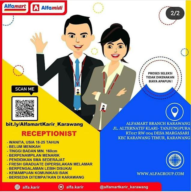 Lowongan Kerja Alfamart Branch Karawang 2020