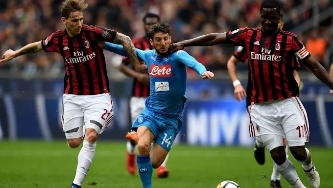 Napoli vs AC Milan Team news, Betting Tips and Odds