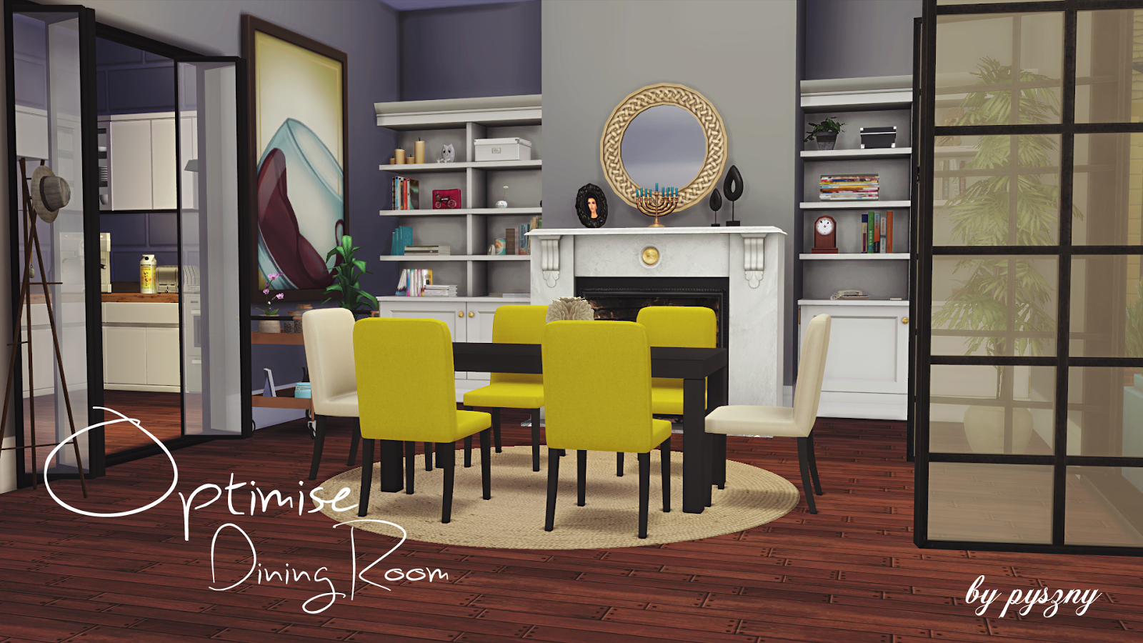 Optimise dining room updated for Dining room ideas sims 4