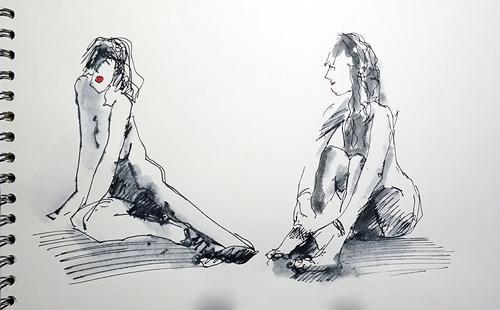 nackt und blos