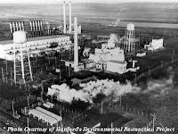 Hanford Plutonium Plant Aerial View