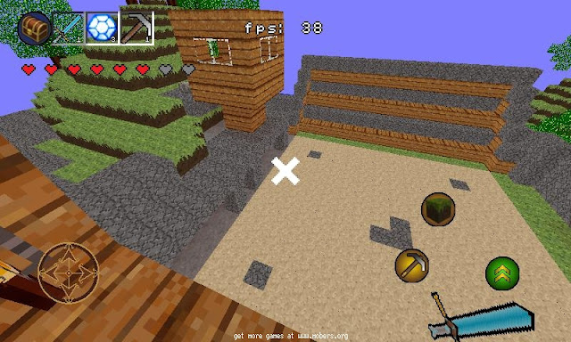 Jogo para Android MiniBuilder (Minicraft) grátis