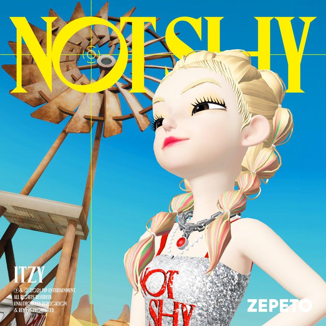 itzy zepetos not shy yeji