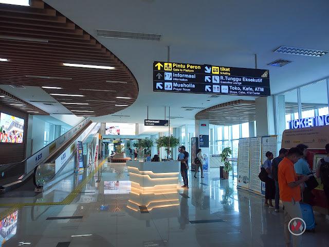 KAI Bandara - BNI City Lobby Railink 蘇加諾・哈達機場鐵路 - Soekarno-Hatta Airport Train / KAI Bandara