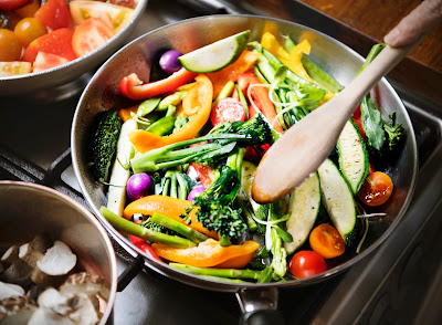 Healthy Lunch Ideas: Mix Vegetables