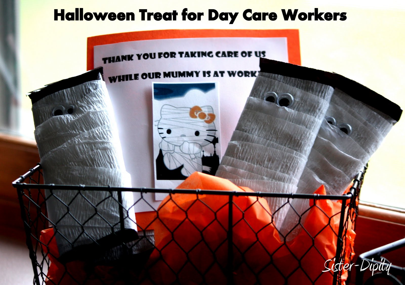 Sister Dipity Halloween Treats For Day Care Workers