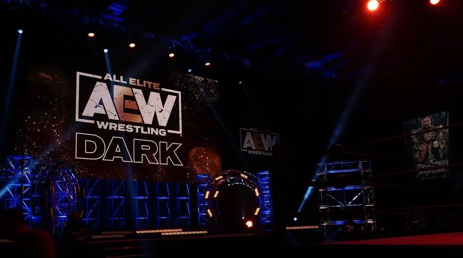 Imagens do AEW Dark na Universal Studios são vazadas