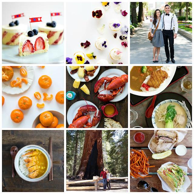 korean food blog, japanese food blog, asian hapa, halfie, lds, mormon food blogger, katsu curry, maine lobster, murcott tangerines, monterey restaurants, napa, 4th of july cake, entremet