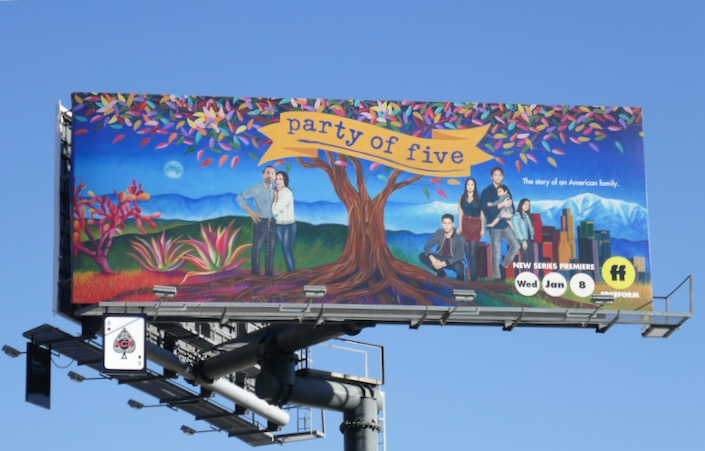 Party of Five 2020 series premiere billboard