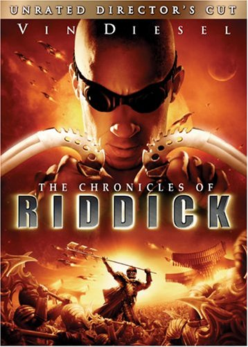 Poster Of The Chronicles of Riddick 2004 720p Hindi BRRip Dual Audio Full Movie
