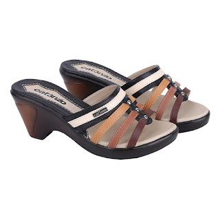 Sandal Wedges Wanita Catenzo TG 138