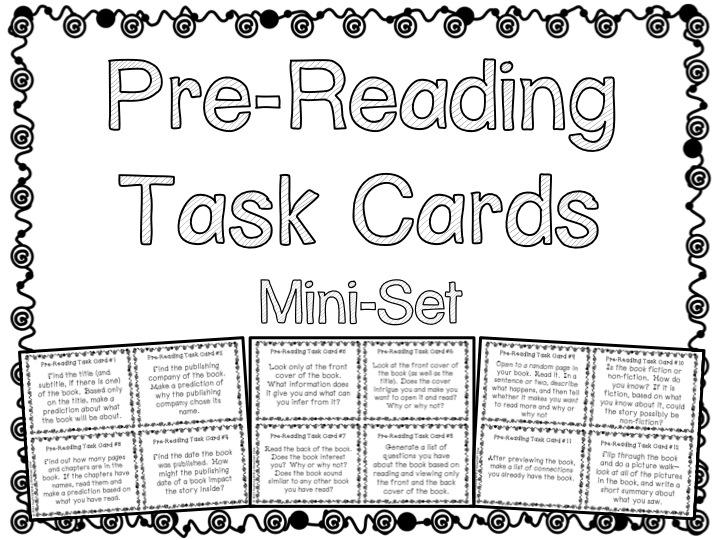 Task Card Corner: Free!