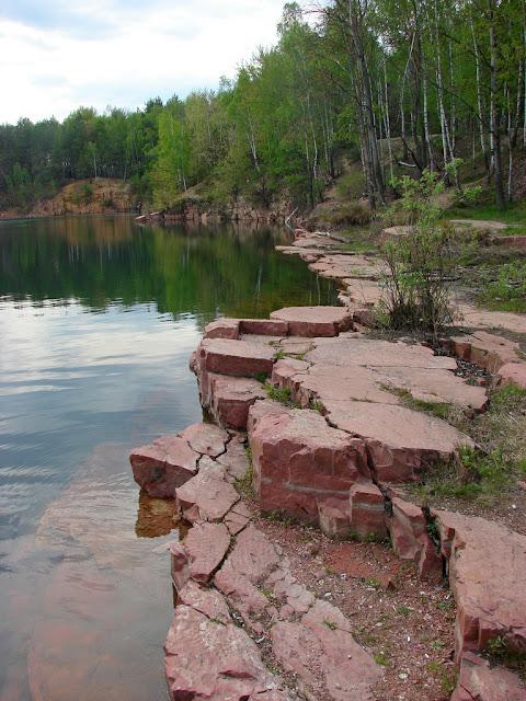 Голубое озеро возле Овруча