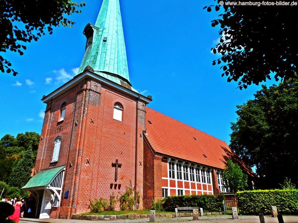 In Hamburg Heiraten,  Hochzeitskirche St. Johannis Hamburg Eppendorf
