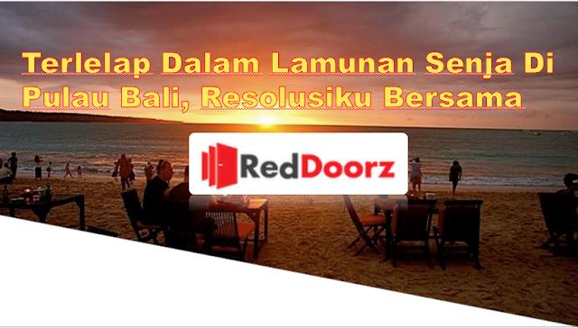 Terlelap dalam Lamunan Senja di Pulau Bali