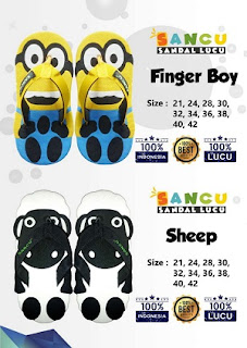 Katalog Sancu Finger Boy dan Sheep