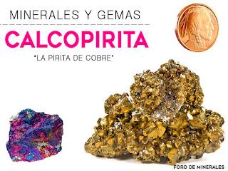 Calcopirita - Propiedades y Caracteristicas - foro de minerales
