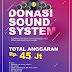 Yuk donasi Sound System untuk kajian Sunnah dan Tabligh akbar