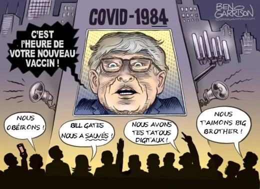 Bill Gates à deux pas de la prison ! Accusé de crimes contre l'humanité ! Corona_crazy_california_fr