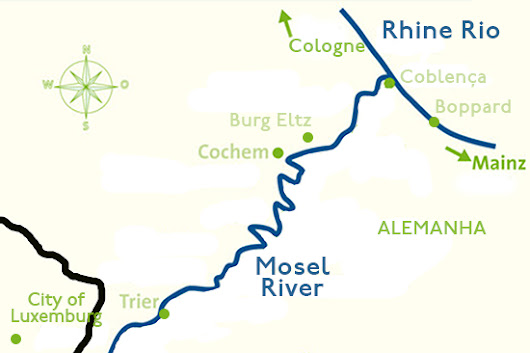 Mosel Valley and Luxembourg - The wine-growing valleys of Germany