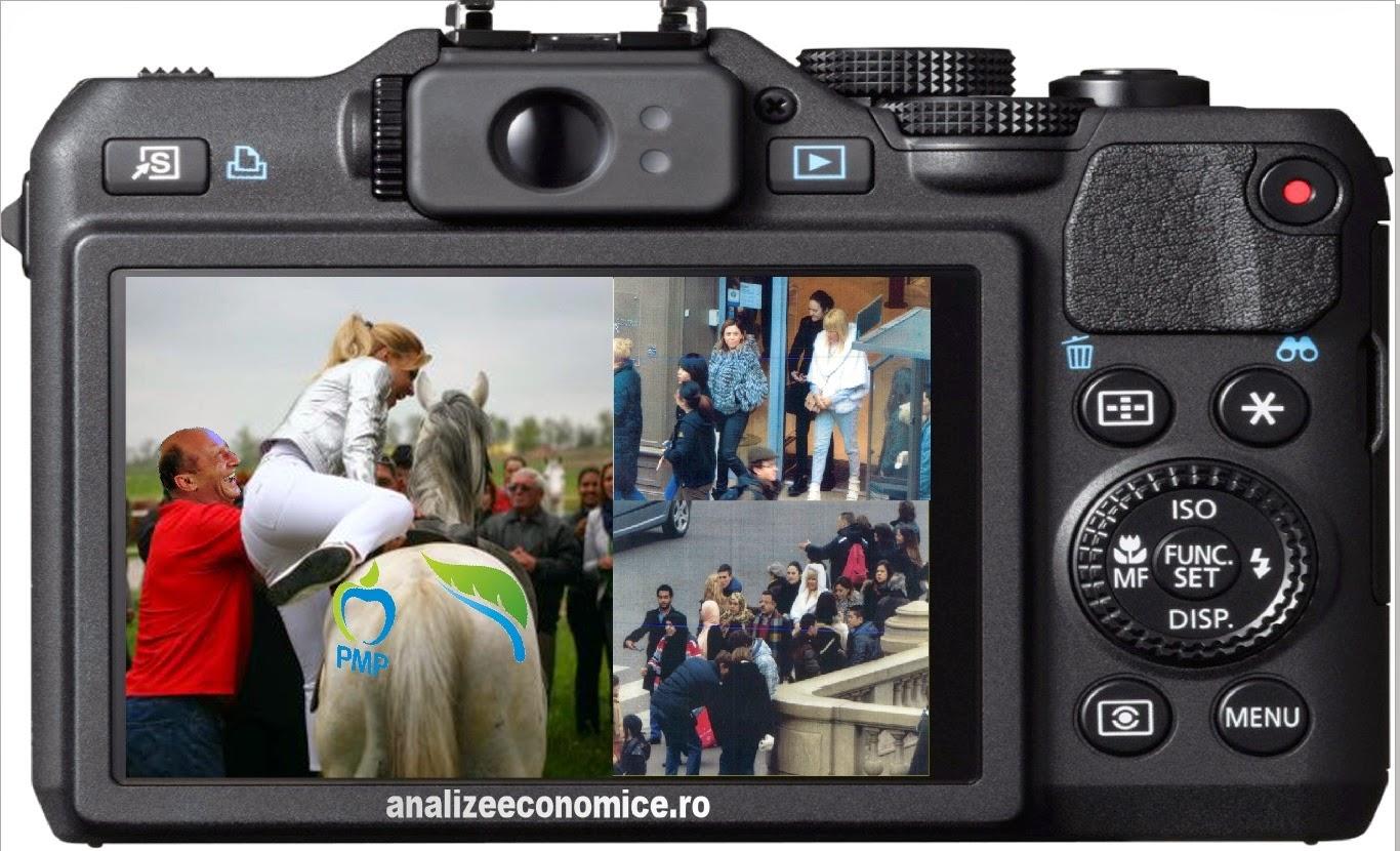 Fotografii cu Udrea la Paris
