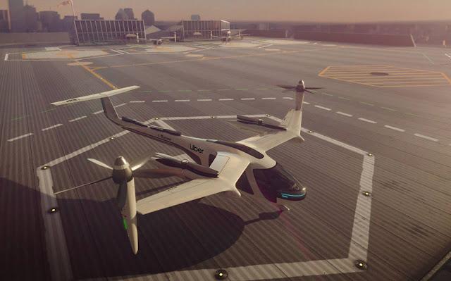 Uber apresenta veículo voador elétrico e autônomo - vídeo