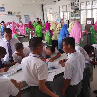 Kunjungan SMK Jengka 2, Pahang ke SMK Jerlun