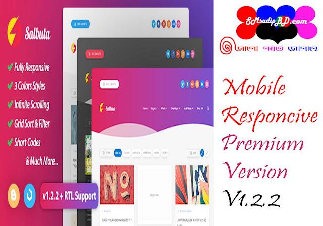 Salbuta v1.2 Premium Responsive Blogger Template