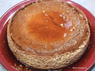 Crema de zahar ars la cuptor reteta creme brulee cu lapte oua vanilie rom retete tort prajitura desert dulce mancare sos caramel,