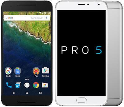 Huawei Nexus 6P vs Meizu Pro 5