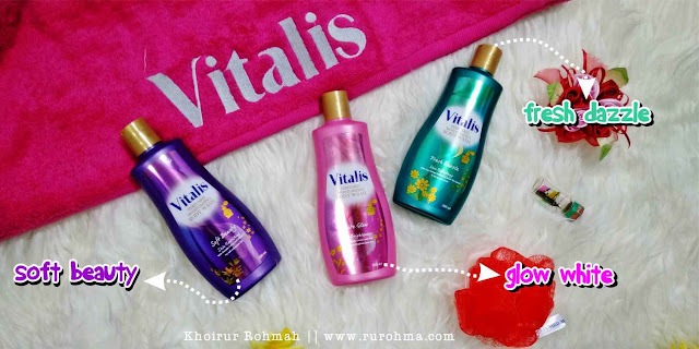 Vitalis perfumed moisturizing body wash all varian