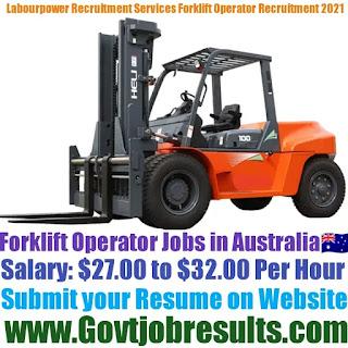 Labourpower Recruitment Services Forklift Operator Recruitment 2021-22