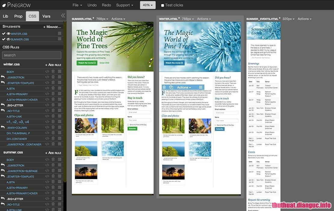 Download Pinegrow Web Editor Pro 5.41 Full Cr@ck