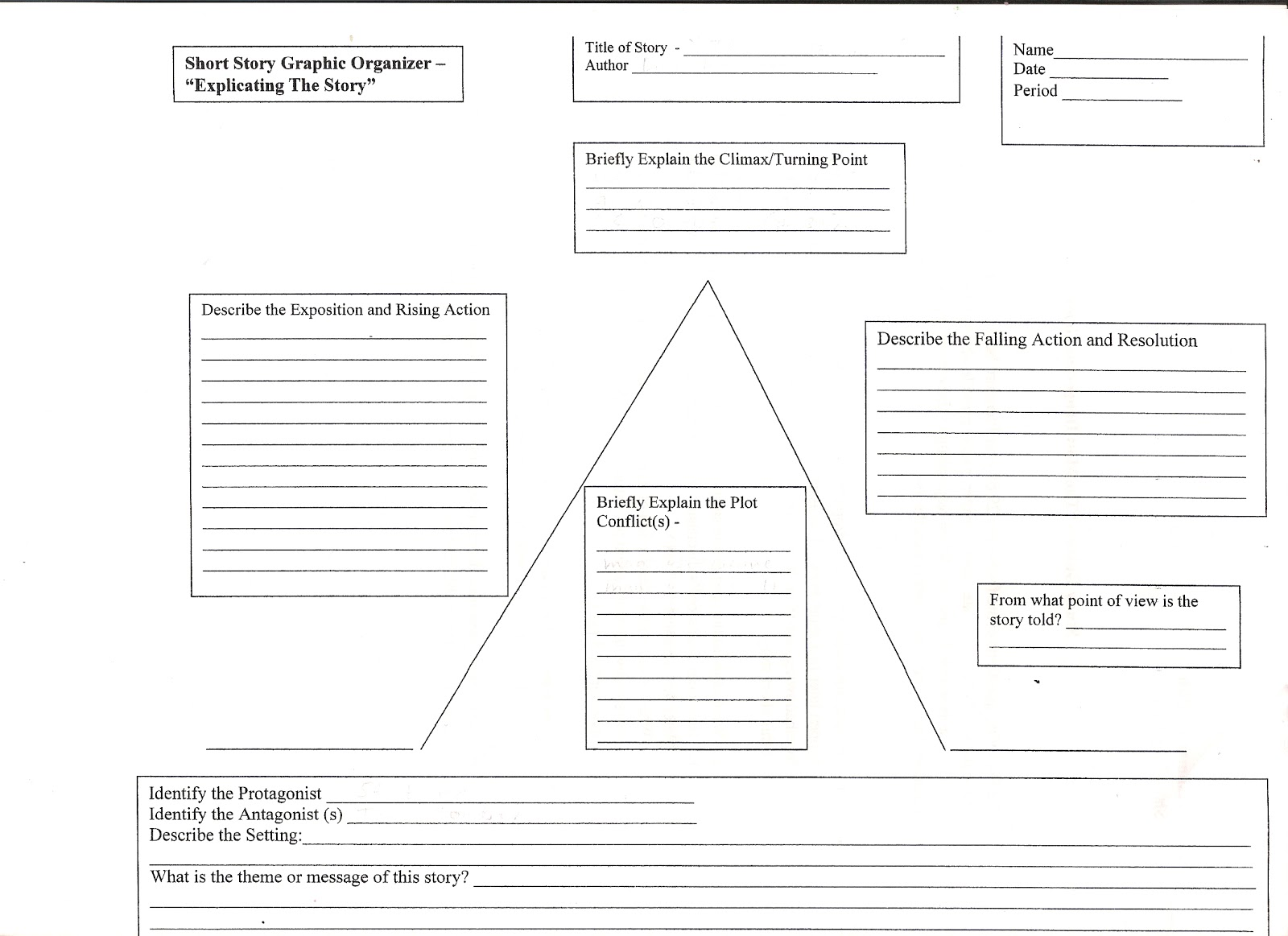 Plot Diagram Graphic Organizer 2005 Kia Sedona Cooling Fan Wiring Search Results For Chart