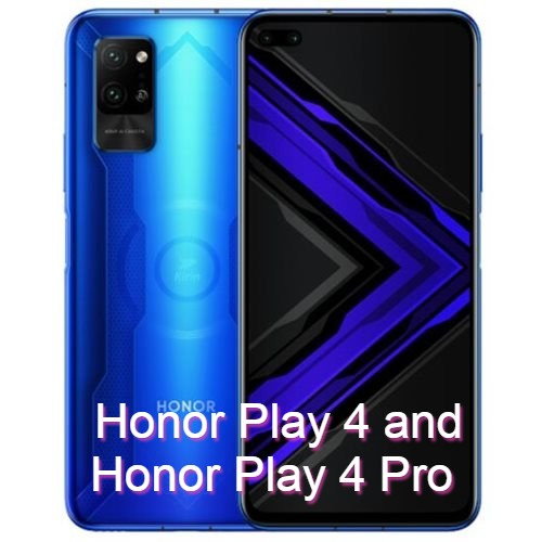 Honor Play 4 and Honor Play 4 Pro