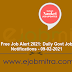 Free Job Alert 2021: Daily Govt Job Notifications - 09-02-2021