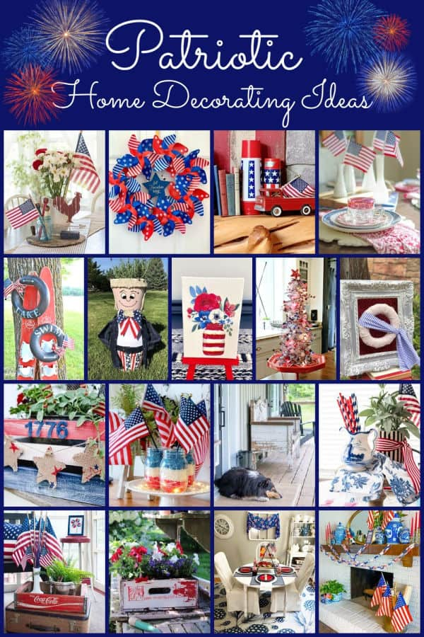 Thrifty Style Team Patriotic Home Decorating Ideas