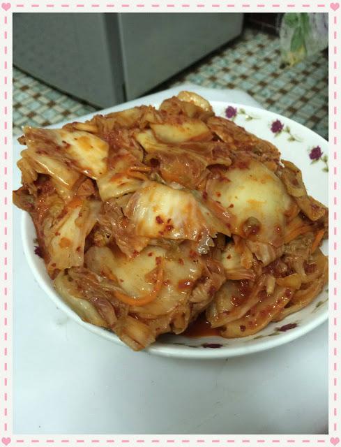 唰嘴的好滋味~素食韓式泡菜