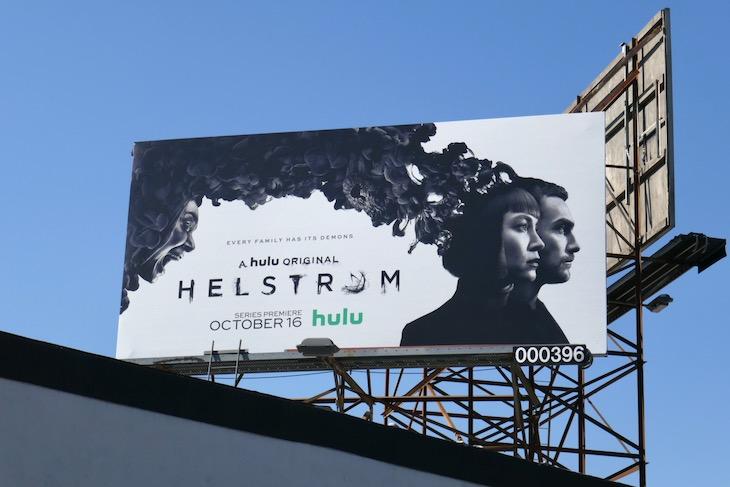 Helstrom Hulu billboard