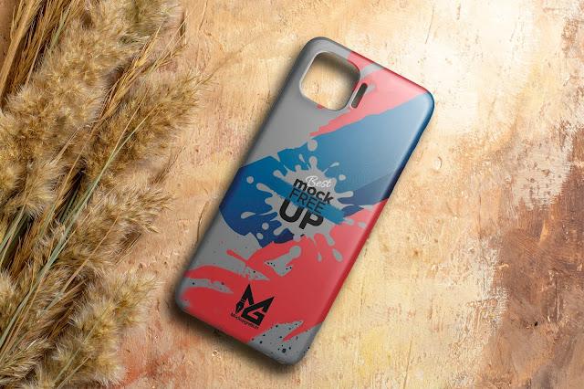 Mockup Custom Case 3D OPPO Reno4 F
