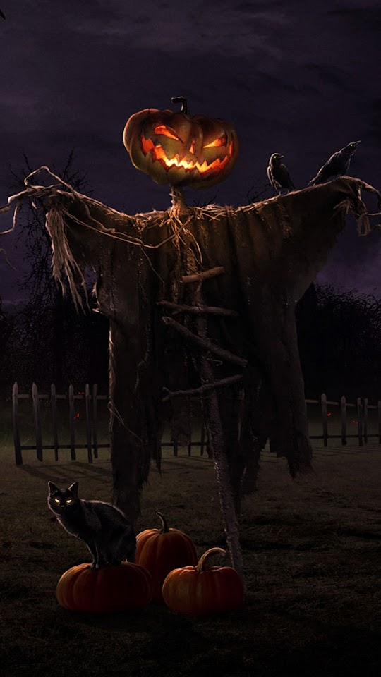 Halloween Scarecrow   Galaxy Note HD Wallpaper