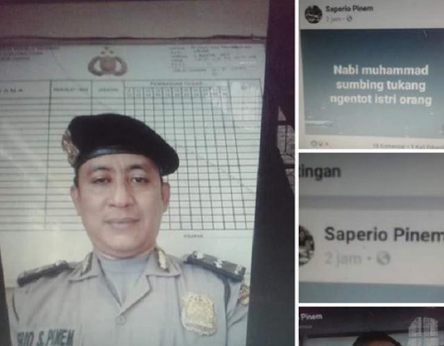 Wasekjen MUI Minta Kapolri Tindak Tegas Oknum Polisi yang Hina Nabi Muhammad