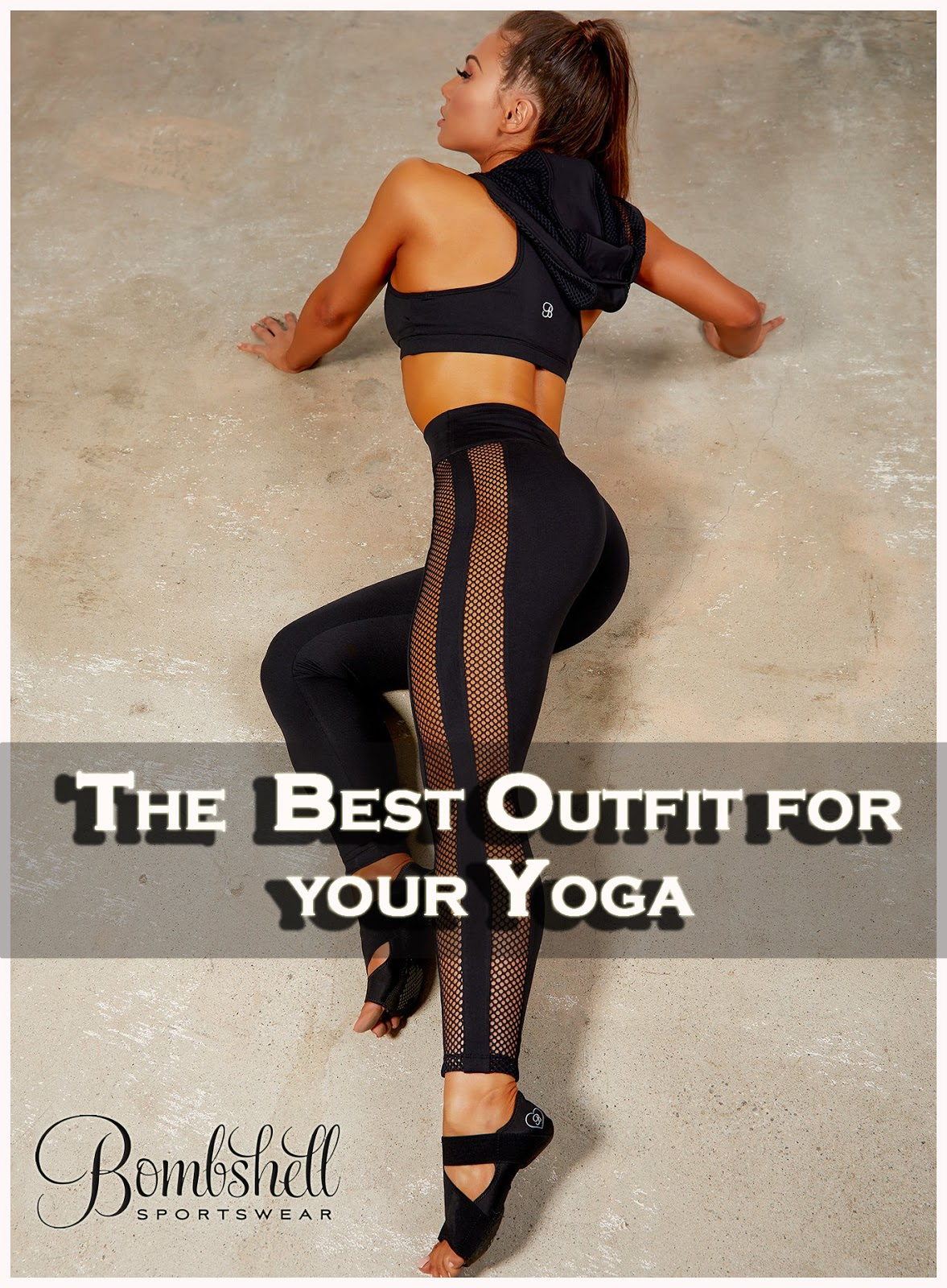 45286b8e47af6 Try the new arrival fashionable Yoga leggings designed by Bombshell  Sportswear for your yoga session. The fabrics are so flexible that it gives  ...