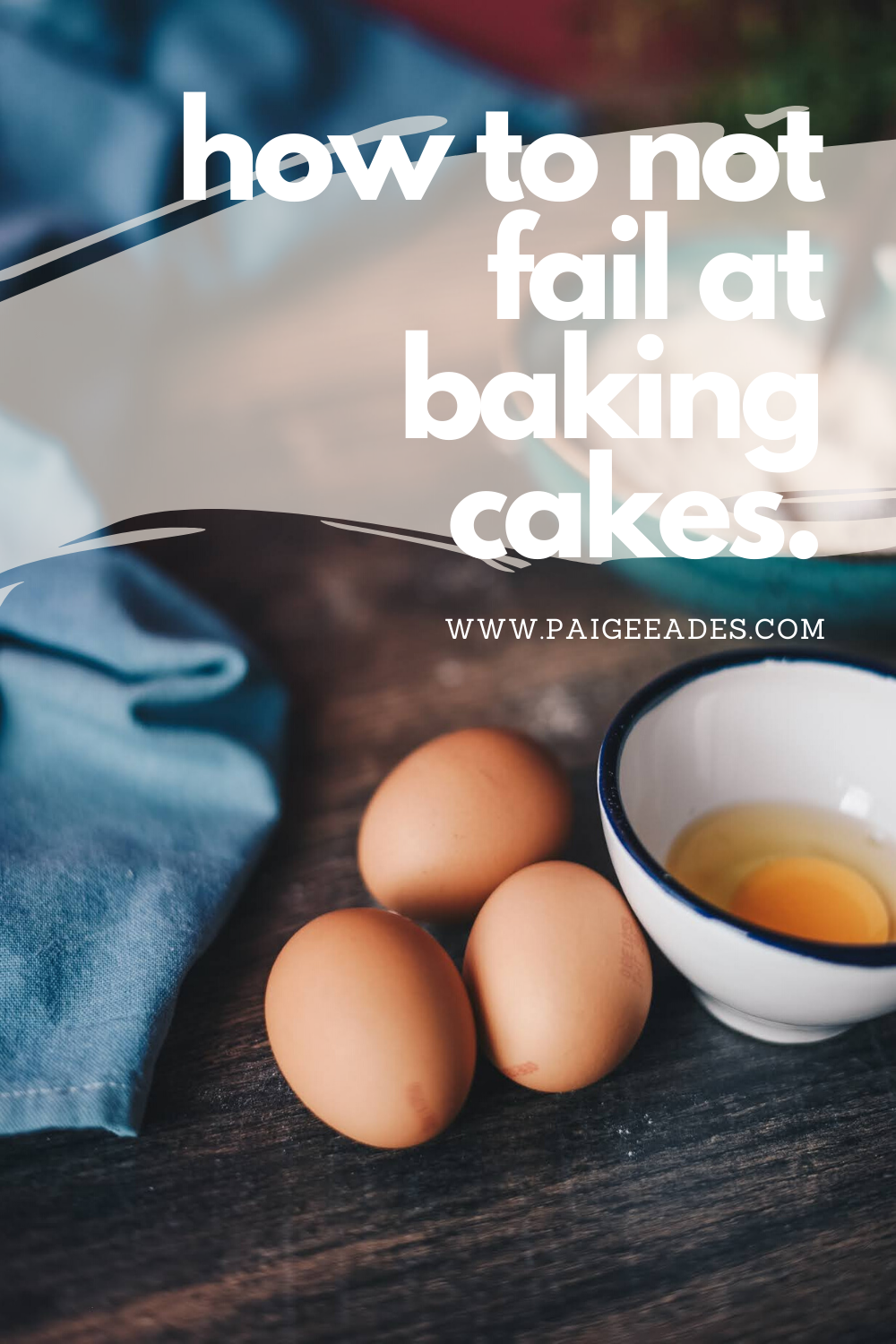 Ever wondered what was going wrong with your cakes? Why are your cakes just not working? Use these tips to ensure your cakes never fail again!