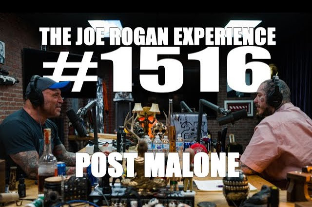 Post Malone Appeared On The Joe Rogan Podcast