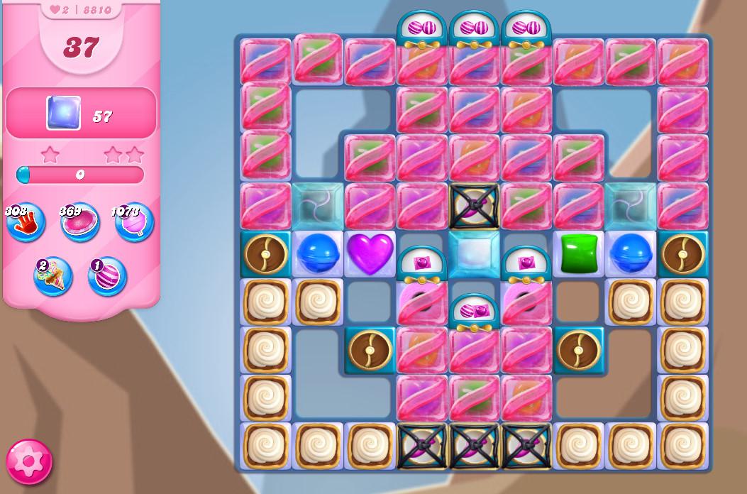 Candy Crush Saga level 8810