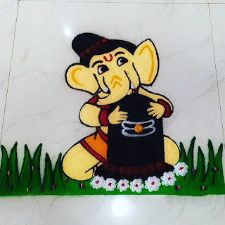 Mahashivratri special rangoli Designs