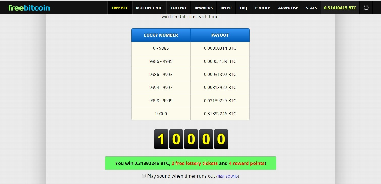 Win free bitcoins every hour abbreviation isu betting patinggi alienware
